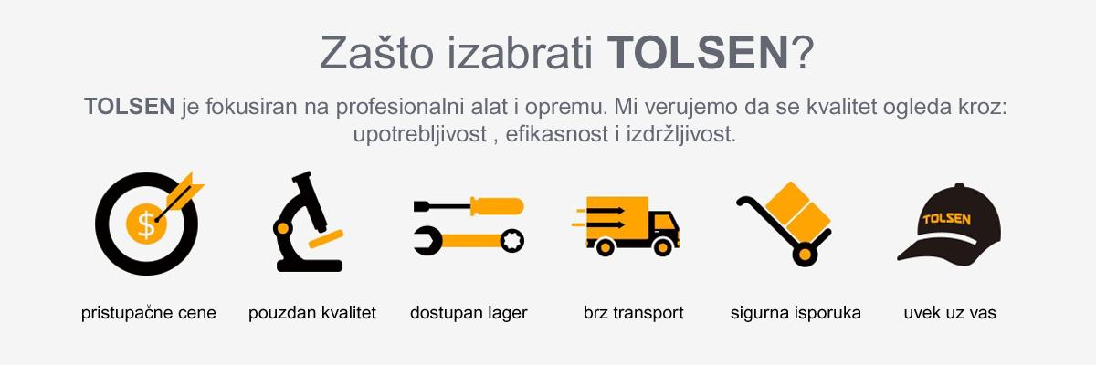 TOLSEN - vrhunski alat po pristupačnim cenama .